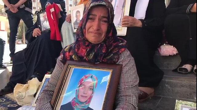 Kızı dağa kaçırılan anne Fatma Akkuşun feryadı yürekleri dağladı