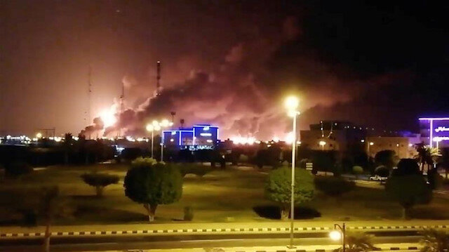 Fransa, Almanya ve İngiltere: Aramco saldırısından İran sorumlu ile ilgili görsel sonucu