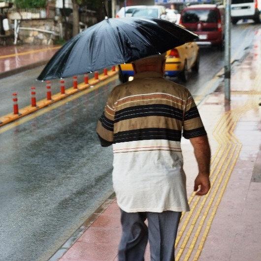 Meteorolojiden 47 ile yağış uyarısı