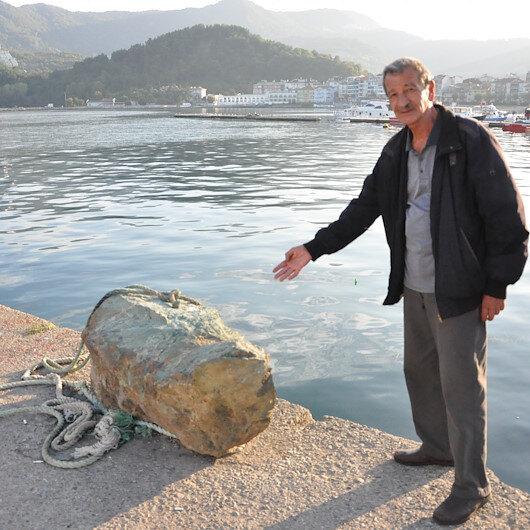 Denizden çıkan kaya için meteor iddiası: Jeologlar mutlaka araştırmalı