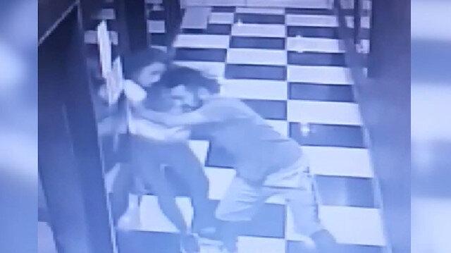 Üniversiteli genç kızın asansör boşluğundan aşağı düştü an