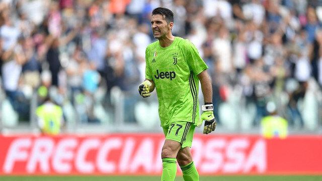 Juventus kazandı Buffon rekor kırdı