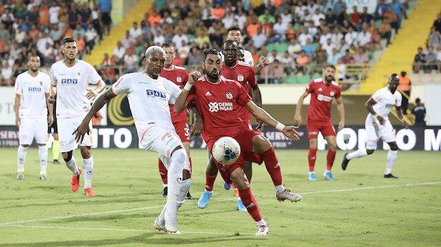 Aytemiz Alanyaspor-Sivasspor: 1-1