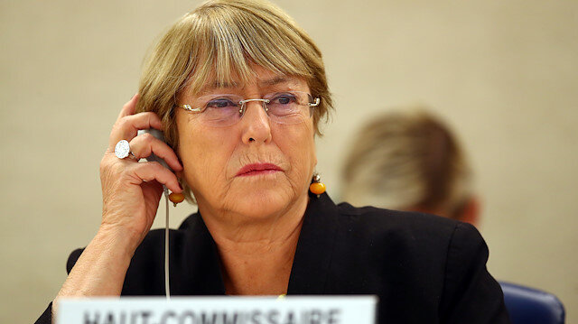 U.N. High Commissioner for Human Rights Michelle Bachelet