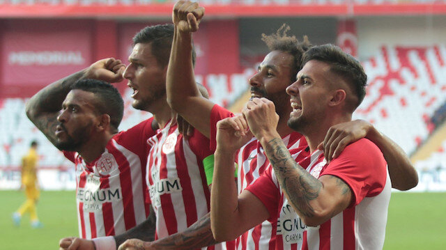 Antalyaspor - BTCTurk Yeni Malatyaspor: 3-0
