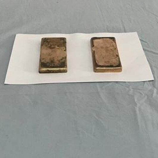 Hakkari'de 2 kilo 484 gram kaçak külçe altın ele geçirildi