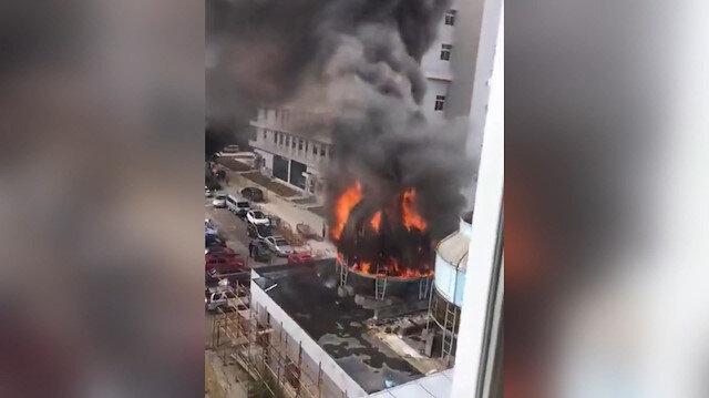 Çinde fabrika yangını 19 can aldı