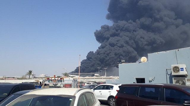 Suudi Arabistan'da Hızlı Tren İstasyonu'nda yangın: 11 kişi yaralandı