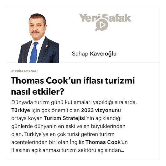 Thomas Cook'un iflası turizmi nasıl etkiler?