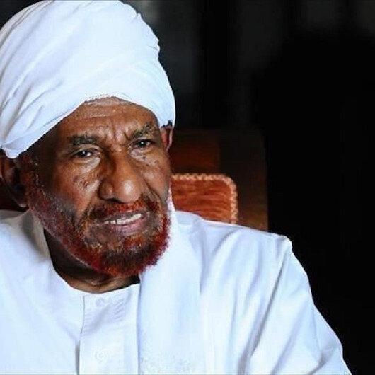 """تحالف """"نداء السودان"""" يقبل استقالة المهدي من رئاسته"""
