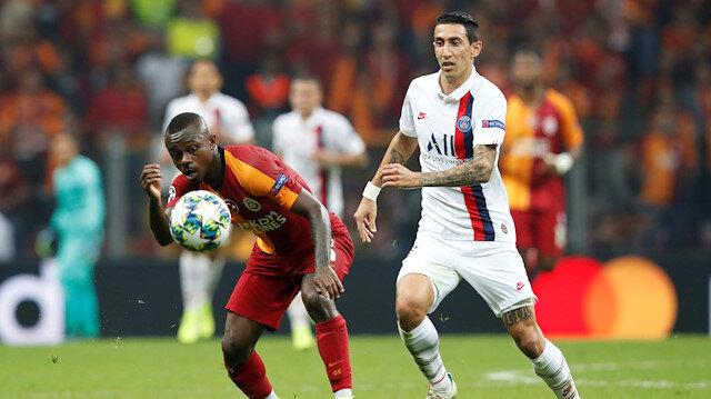 Galatasaray-PSG maçının en çok koşan ismi Seri oldu