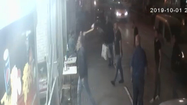 Evine servis yapmayan dönerciye baltayla saldırdı