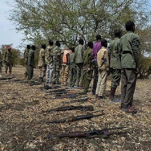 South Sudan child soldiers attempt to rebuild lives