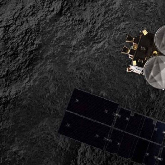 Japanese space mission shoots rover at asteroid