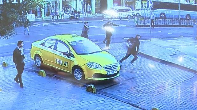 İstanbul sokaklarında kapkaççılara amansız takip kamerada