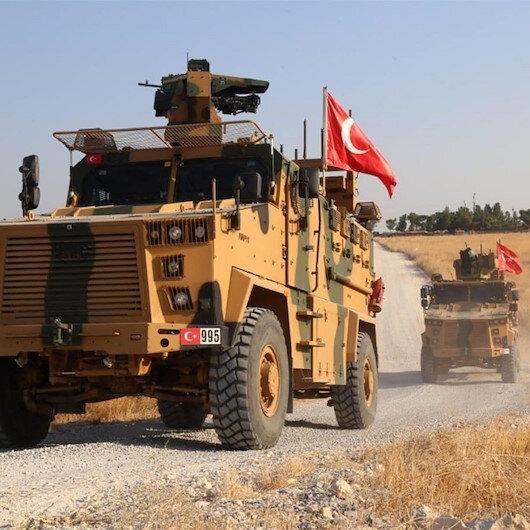 Fırat'ın doğusuna güvenli bölge için 3. kara devriyesi