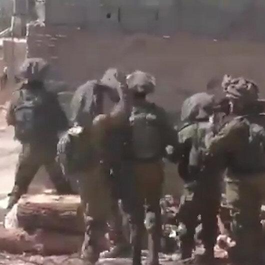 İsrail askerleri taştan korktu: Komutanları bağırıp dayak attı