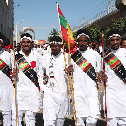 Ethiopia's largest ethnic group crowd for annual ritual