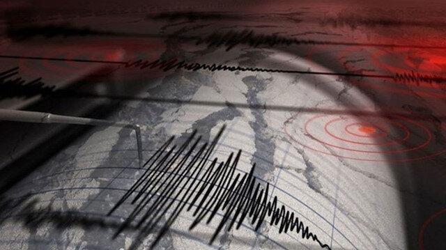 Marmaris açıklarında 4,3 büyüklüğünde deprem