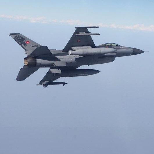 Irak'ın kuzeyine düzenlenen hava harekatında 17 terörist öldürüldü