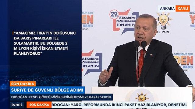 Erdoğan: Operasyon bugün yarın denebilecek kadar yakın