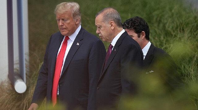 Cumhurbaşkanı Erdoğan ve ABD Başkanı Donald Trump telefonda görüştü