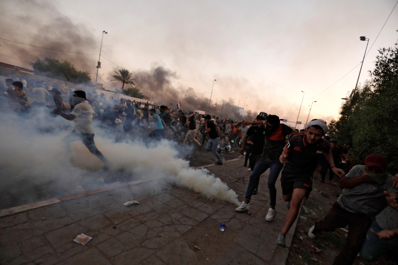 Irak'ta Bağdat ile güneydeki kentler 1 Ekim'den bu yana