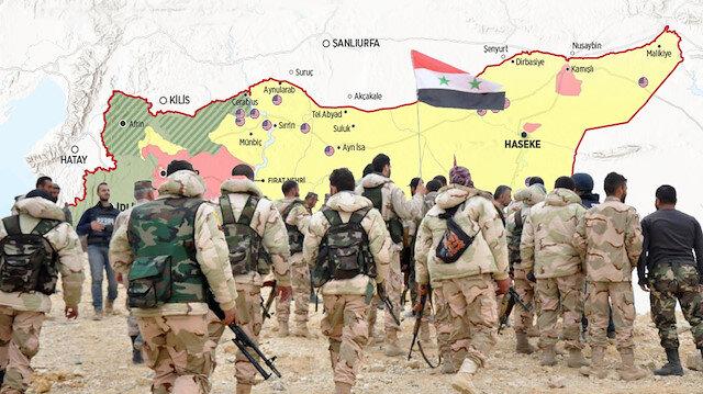 YPG ile Esed'in anlaşması Türkiye'nin harekatını engelleyemez