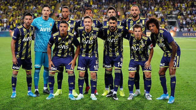 Fenerbahçe'nin Antalyaspor 11'i