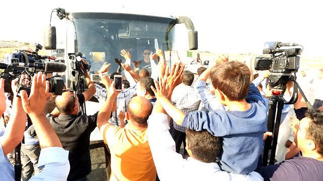 Vatandaşlardan sınıra giden Mehmetçike sevgi seli