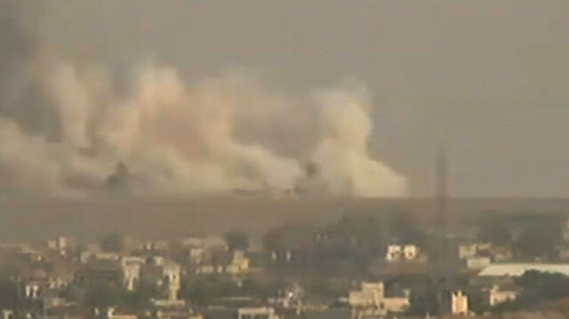Explosions rock Syria's Ras al Ain as Operation Peace Spring begins in N Syria