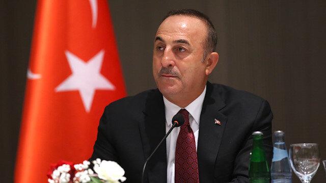 Bakan Çavuşoğlu: Harekatımız uluslararası hukuk gereğince icra edilmektedir