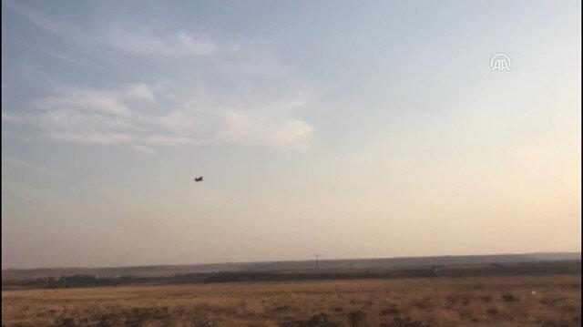 Diyarbakır 8. Ana Jet Üs Komutanlığında hava hareketliliği