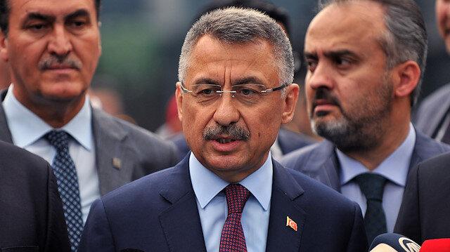 Cumhurbaşkanı Yardımcısı Oktay : Barış Pınarı Harekatı Suriyelilerin güvenle evlerine dönmelerini sağlayacak