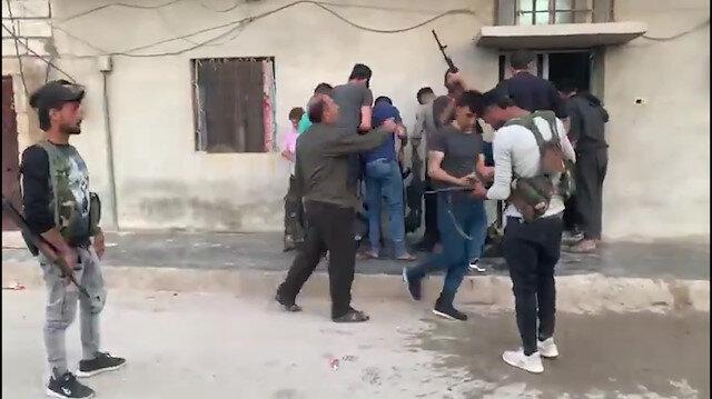 Teröristlerin kirli oyunu kamerada