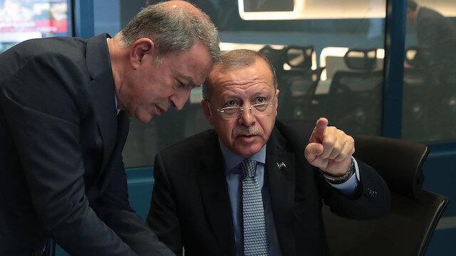 Erdoğan başkanlığında Barış Pınarı Harekatı koordinasyon toplantısı yapıldı