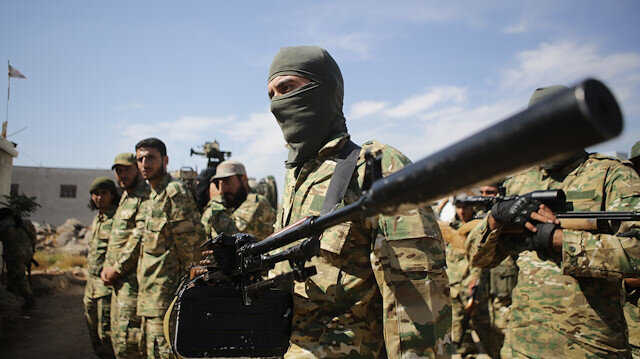 Syrian National Army reinforce Manbij front line