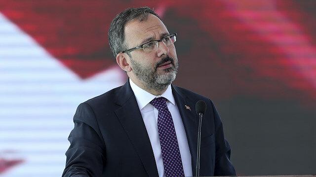 Bakan Kasapoğlu açıkladı: Gençlik Projelerine 15 milyon liralık destek
