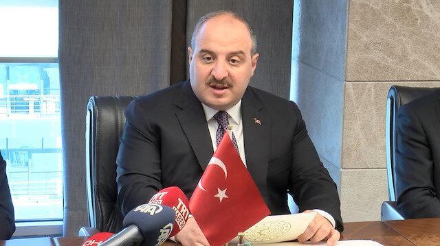 Sanayi ve Teknoloji Bakanı Mustafa Varank: Umutlarını söndürecek adımı atmak üzereyiz