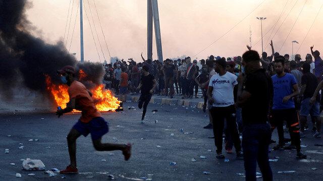 Irak'taki gösteriler: Orduya verilen alarm durumu sona erdi