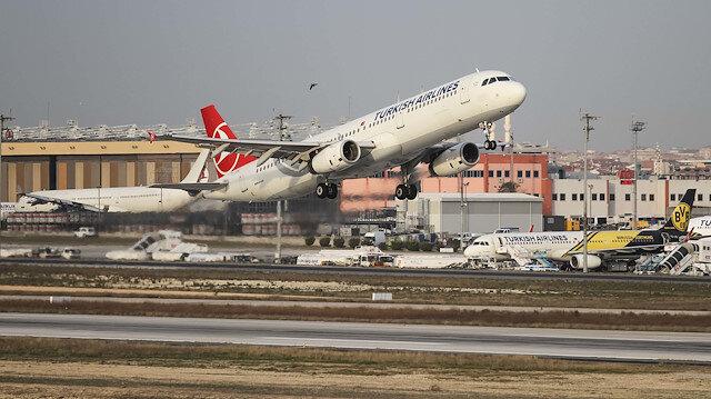 THY Eylül ayında 6,7 milyon yolcu taşıdı
