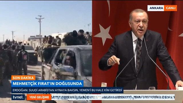 Erdoğandan Sisiye: Sen kınasan ne yazar kınamasan ne yazar