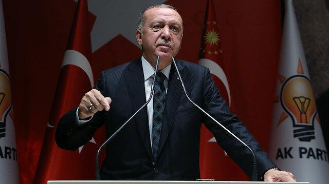 Erdoğan: Barış pınarı Harekatı'nda şimdiye kadar 109 terörist etkisiz hale getirildi