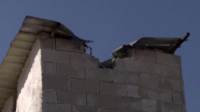 Teröristler işgal ettikleri Suriye topraklarından Akçakale'ye 4 havan mermisi attı
