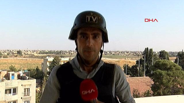 Türkiye'yi hedef alan teröristler, işgal ettikleri Kamışlı'yı vurdu