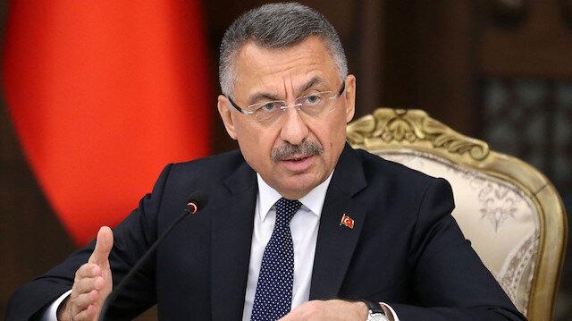 Cumhurbaşkanı Yardımcısı Oktay: Biz Kürtlerle değil YPG/PKK terör örgütüyle mücadele ediyoruz