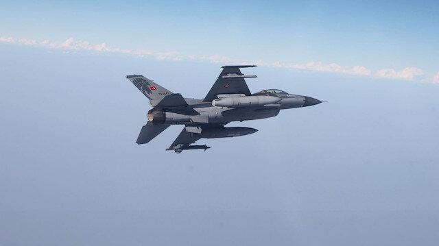 Pençe Harekatı kapsamında Zap ve Gara'ya düzenlenen hava operasyonunda 3 PKK'lı terörist öldürüldü