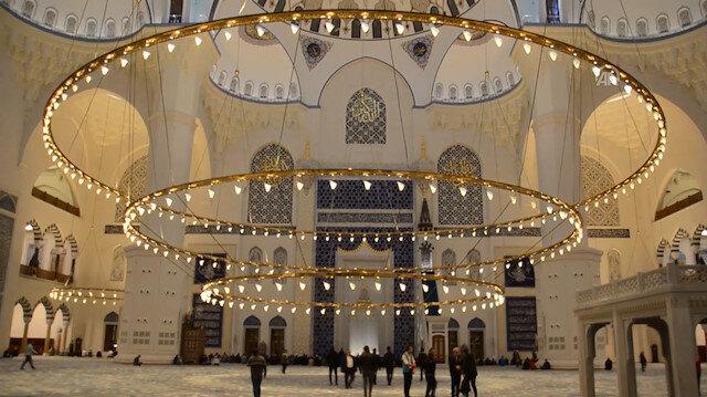 Çamlıca Camisi'nde Mehmetçik için Fetih Suresi okundu