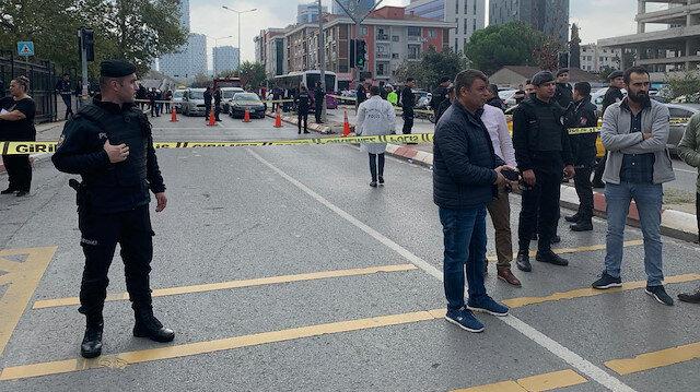 Kartal'daki Anadolu Adalet Sarayı önünde silahlı kavga: 4 kişi yaralandı