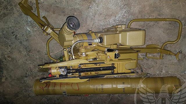 ABD'nin PYD'ye verdiği füzeler Suriye Milli Ordusu'na ganimet oldu